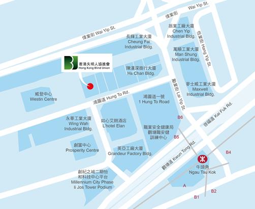 地圖:九龍觀塘鴻圖道16號志成工業大廈12樓1202室